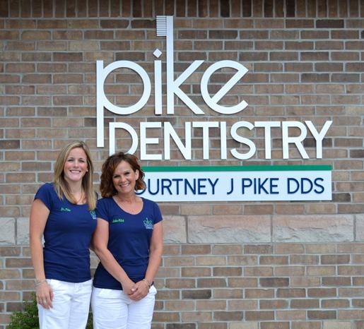 Dr. Courtney Pike, D.D.S. and Julie, Registered Dental Assistant